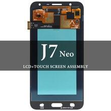 Для j7 neo j701 j701f ЖК дисплей со стандартной заменой super