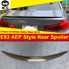 3 series E93 M3 2-DR Coupe convertible High kick Trunk spoiler wing Carbon P style For BMW 320i 325i 330i 335i 335d wing 2006-13 электромобили hebei bmw 2 series coupe