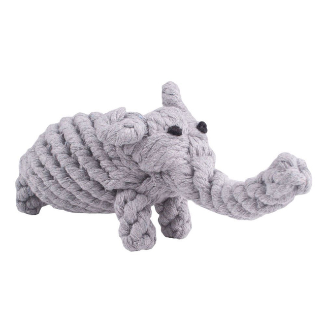 Cotton Rope Animal Shaped Chewy Dog Toy
