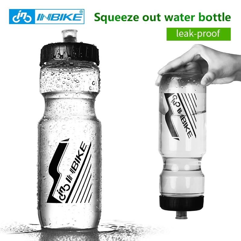 INBIKE Outdoor Sport Bike Bicycle Cycling Water Bottle 700ml Bicycle Bottle Squeeze MTB Road Bike Waterbottle Bike Accessories