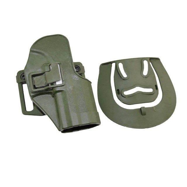 CQC Gun Holster tactical Hunting Airsoft Belt Pistol Holster for HK USP Compact Black/Green/Tan 6