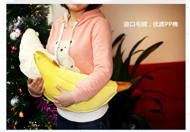 Brinquedo de simulação de banana de Banana travesseiro lindo dia dos namorados criativo presente especial de cerca de 70 cm