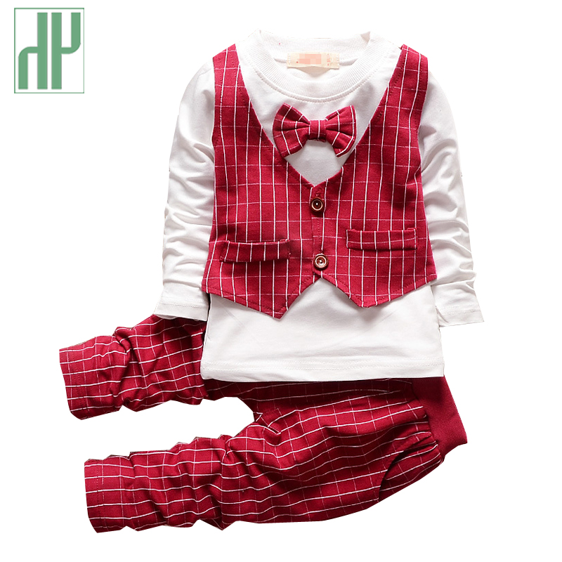 Children clothing spring fall casual kids sport suits Baby Boy gentleman suit new year costume for boy girls boutique outfits