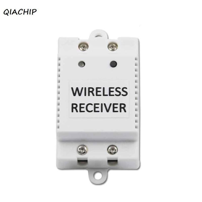 QIACHIP 433Mhz AC 110V 220V 50/60Hz Wireless remote control touch switch Wireless Receiver for smart home light wall switch H3 qiachip 433mhz 86 wall switch 2 button remote control switch wireless transmitter switch room for smart home lamp light led bulb