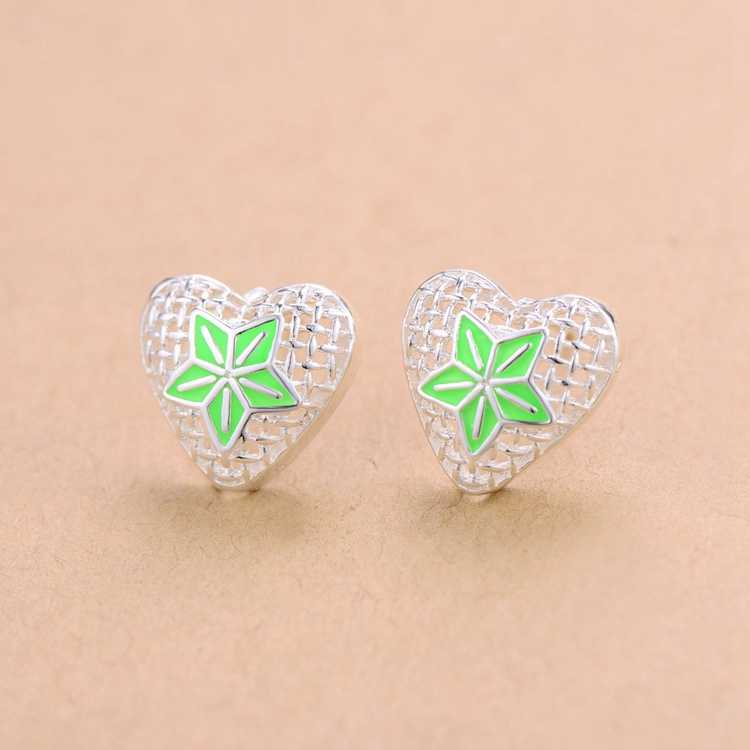 Free shipping high quality silver plated earrings Fashion jewelry WE1017