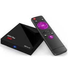 A5x além de caixa de tv rk3328 android 8.1 4 k hdr10 usb3.0 2 gb 16 gb de banda dupla wifi lan bluetooth 4.0 hd media player a53