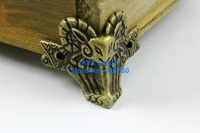 Aliexpresscom Buy 4 Pieces Antique Brass Jewelry Box Feet Animal