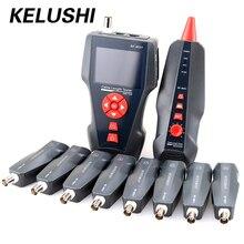 NF-8601W multifuncional Red De Cable Tester con POE y función PING PING RJ45 LAN Red de Cable Tester para BNC POE RJ11