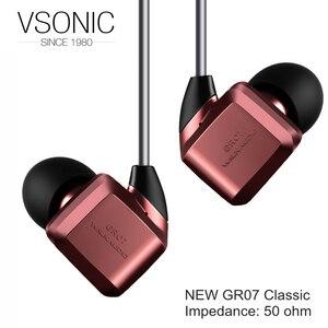 Image 2 - VSONIC HIFI Dinamico In Ear Auricolari Auricolare NUOVO GR07 Classico Professionale di Isolamento del Rumore di Sport IME