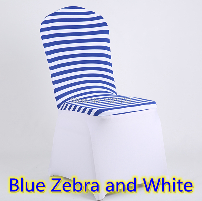 Dining Top Cover Zebra Print Artical Wholesale Wedding Lycra Spandex Stretch Banquet Chair For