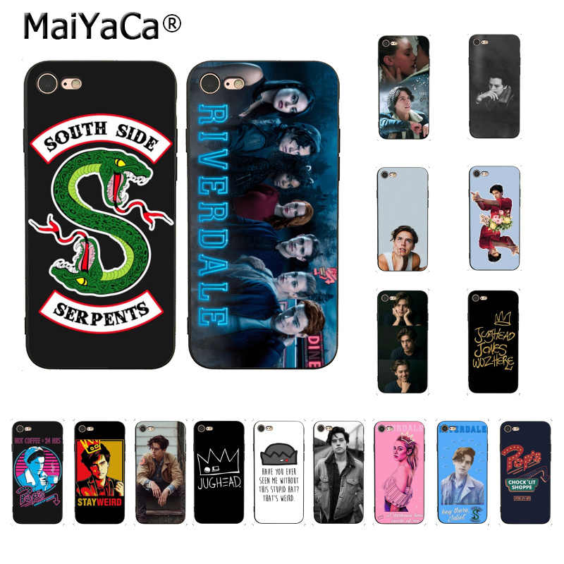 MaiYaCa For iphone 7 X 6 Case American TV Riverdale Series Cole Sprouse Coque Phone Case for iPhone 8 7 6 6S Plus X 5 5S SE 5C