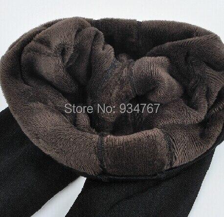2019 New Fashion dámské podzimní a zimní vysoká pružnost a kvalitní legíny tlusté sametové kalhoty Drop shipping big size