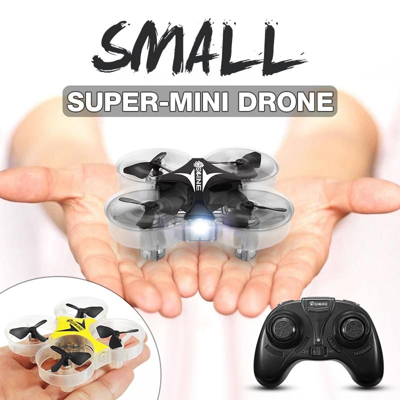 Eachine E012 Mini 2.4G 4CH 6 Axis With Headless Mode LED RC FPV Quadcopter Drone Toy RTF VS E010 Micro Drone
