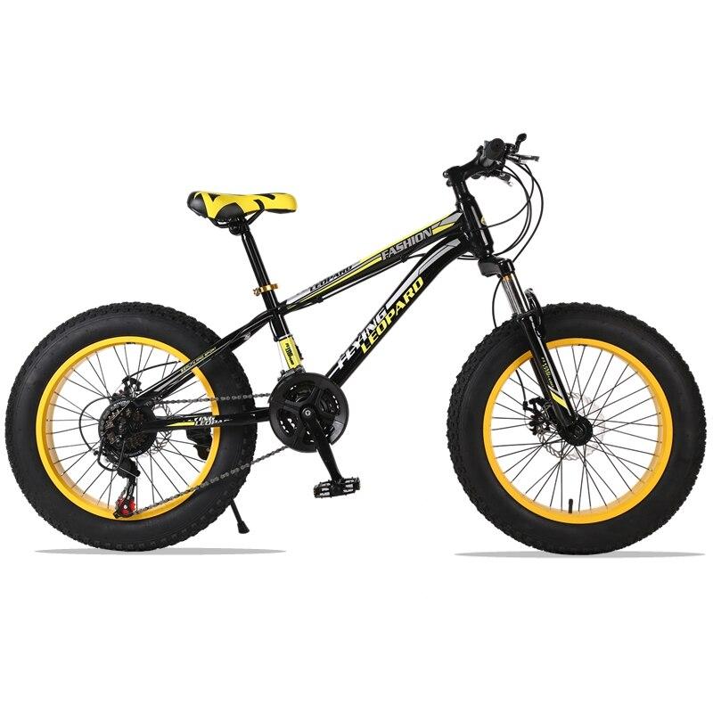 Горный велосипед 21 скорость 2,0X4,0 дорожный велосипед жира велосипед спереди и сзади механические дисковые тормоза Для женщин и детские вело...