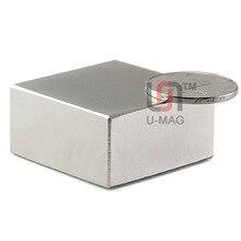 Магнитов неодимовый редкоземельных сильный магнит блок x супер мм шт.