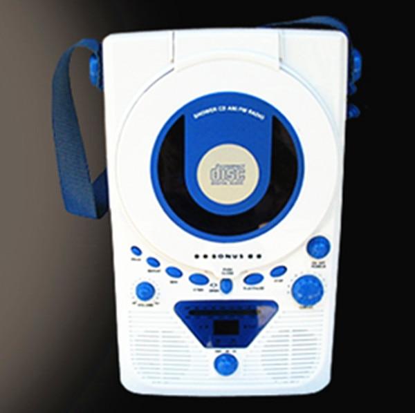 Portable Audio free shipping 2015 new hot European BONUS Wall cd player cd machine Kitchen Shower Radio prenatal machine