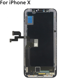 Image 3 - Black ZY OLED For iPhone X LCD Display Touch Screen Tianma TFT GX Digitizer Assembly Free Tools For iPhone X LCD