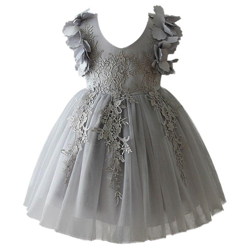 laco infantil bebe menina festa de aniversario vestidos casamento formal flor dressbaptismo vestido de pascoa crianca