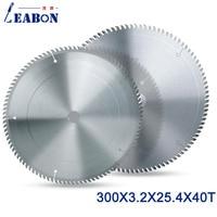 LEABON 1pcs Circular Saw Blade Diameter 300x40Tx3.2x25.4/30mm Aluminum Cutting Saw Disc Blade for Wood Cutting