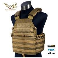 Flyye Industries LT 6094 Vest Medium Tactical Vest Hunting Airsoft Military Combat Gear VT M025 Multicam AOR Black