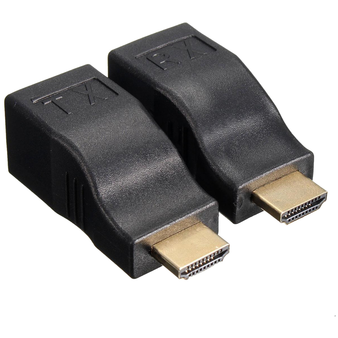 4 К HD 1080 P 3D HDMI Extender над двойной RJ45 cat 5e/6 Ethernet сетевой адаптер