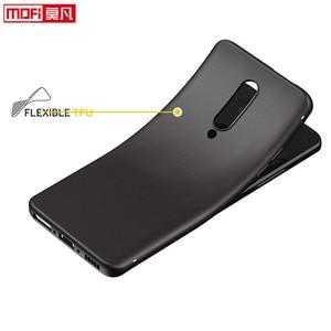 Image 5 - Étui mat pour oneplus 7 pro étui oneplue 7 housse silicone dos noir souple Mofi ultra mince coque de protection OnePlus 7 Pro housse