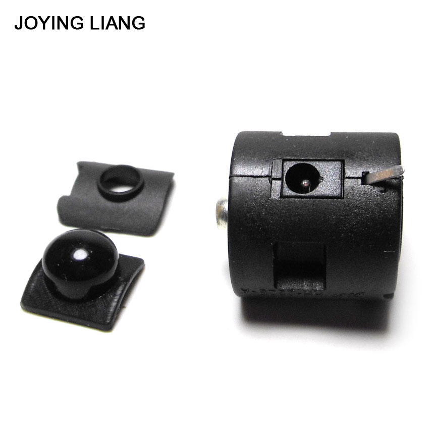 JOYING LIANG JYL-22ZB 22mm Diameter Round Button Switches Flashlight Central Switch Middle Part Switch Accessories