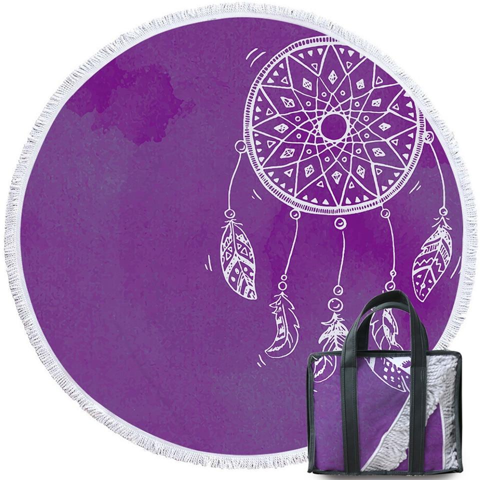 深紫水墨捕梦网