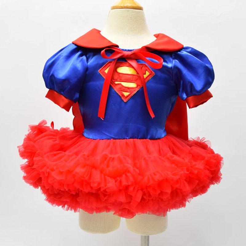 MOONIGHT children hot super women girl dress halloween cosplay party super hero costume Halloween Christmas