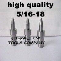 Hartmetall fluss drill America system UNC 5/16-18 (7,2mm) rund, form bohrer für edelstahl