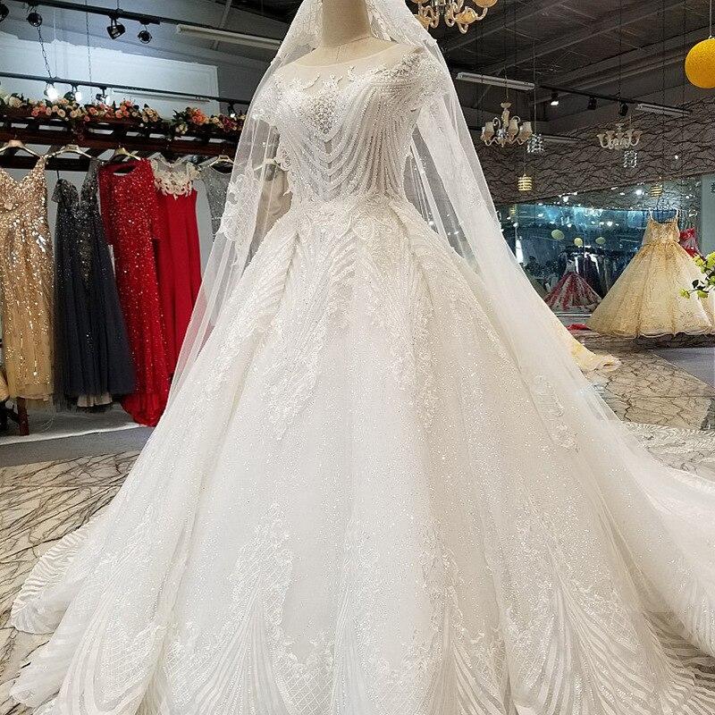 Vivian Wedding Gown: Vivian's Bridal Luxury Hand Made Sequin Crystal Stripe