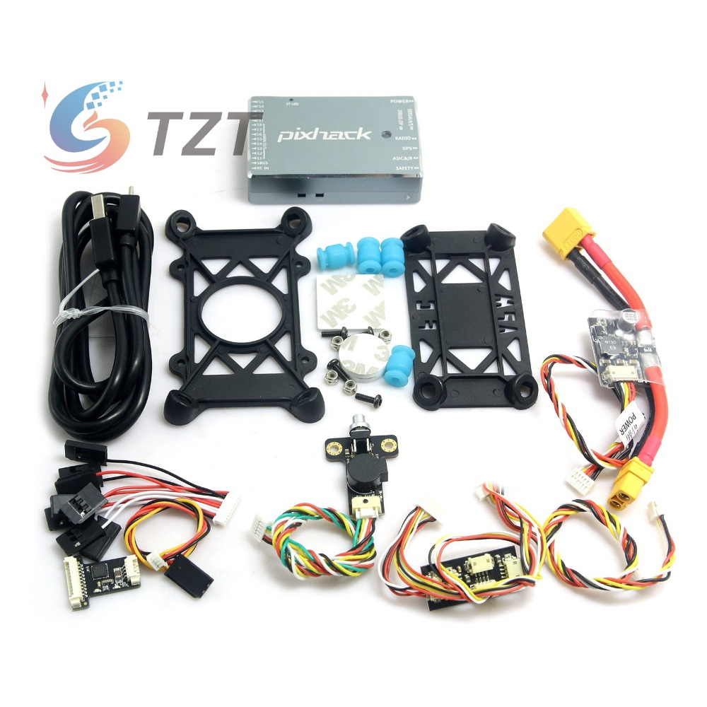 2018 Upgraded CUAV Pixhack 2.8.4 Flight Controller Combo STM32F427 Cortex M4 for Quadcopter Multicopter FPV Pixhack Controller cuav pixhack mini stm32f427 flight controller built in barometer for compass compatible ardupilot px4 for rc drone quadcopter