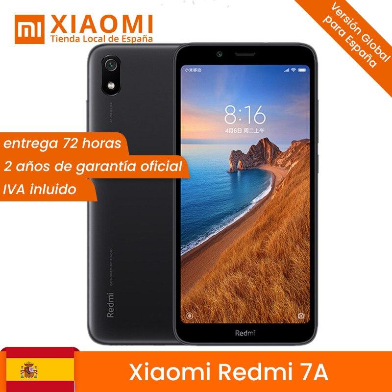 En Stock! Version mondiale Xiaomi Redmi 7A 7 2 GB 16 GB/32 GB Smartphone 5,45
