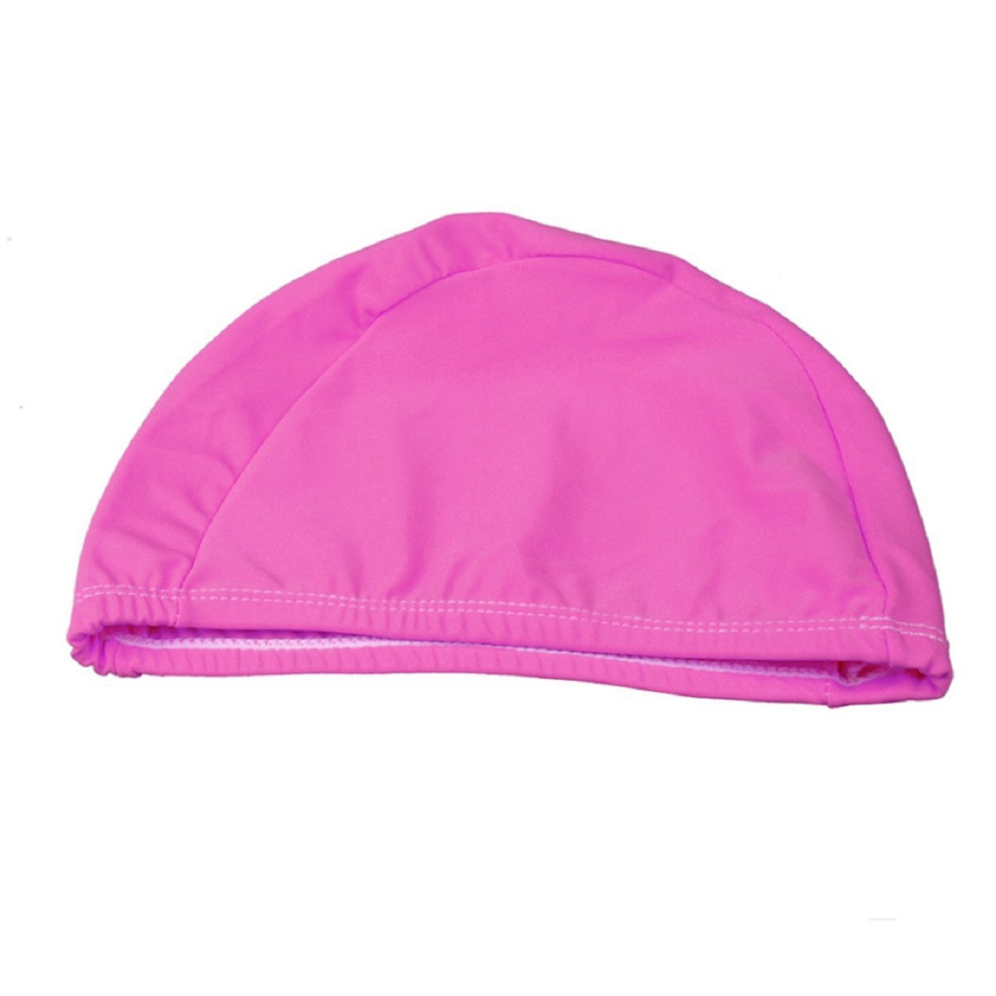 New Sale Adult Swimming Hats Unisex Outdoor Sports Stretch Cap Rose red
