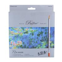 72pcs Color Pencil Painting lapis de cor non toxic lead Oily Color Pencil Writing Pen Office & School Supplies