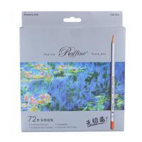 72pcs Color Pencil Painting lapis de cor non toxic lead Oily Color Pencil Writing Pen Office & School Supplies