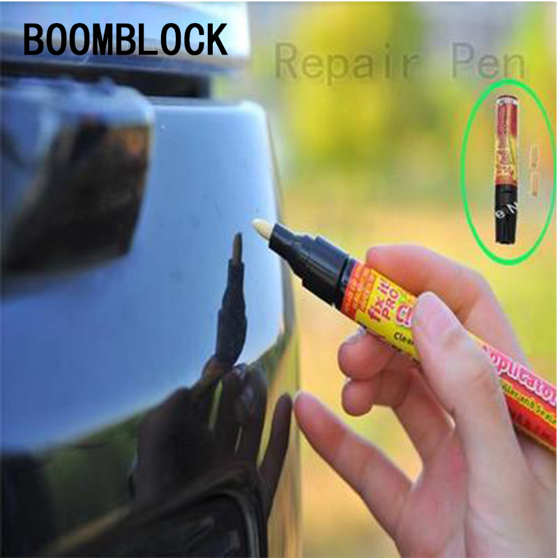 Clear Car Scratch Repair Remover Pen Auto Verf Pen Voor Peugeot 307 206 407 508 Citroen C4 C5 Honda Civic Accord Crv Lada Vesta