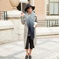 Casual Autumn Winter Oversize Gradient Blanket Scarf Women Acrylic Wrap Cashmere Scarf Shawl Pashmina 200*85cm