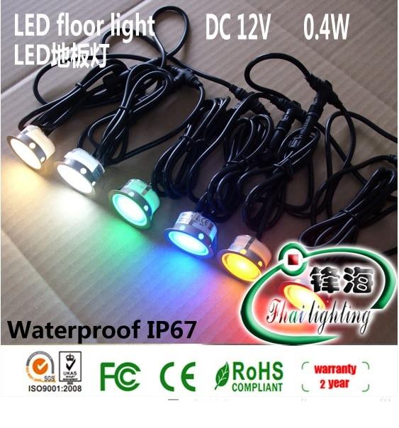 DC12V Step Light 0.36W LED Stairway Lamp Walkover Light ...