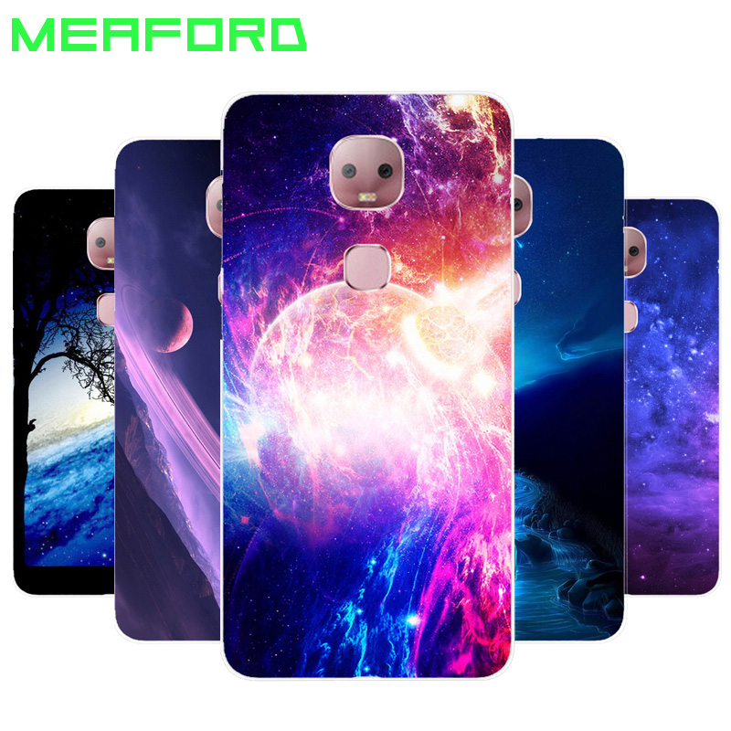 Silicone case For LeEco Le Pro 3 AI Soft Phone Case Art Print Back Cover For Letv Leeco Le Pro3 AI Edition X650 X651 Clear edge(China)