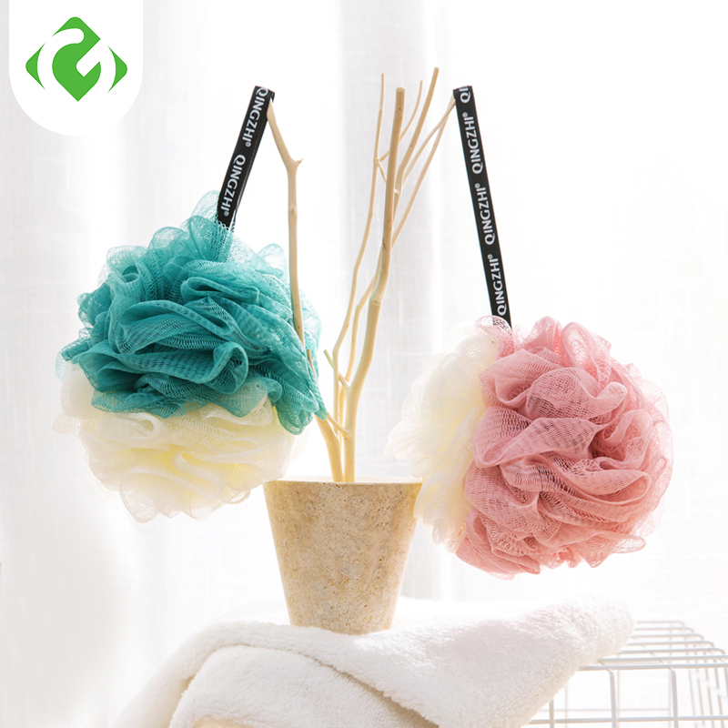 GUANYAO Bath Ball Double color matching Bath Brushes Rich in