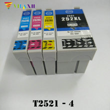 T2521 T2522 T2523 T2524 Refillable Ink Cartridge for Epson WorkForce WF-3620 WF-3640 WF-7610 WF-7620 3620 3640 7610 7620 for epson t2521 t2522 t2523 t2524 ink cartridge ciss for wf3620 wf3640 ink jet printer with ink with chip free shipping hot sale