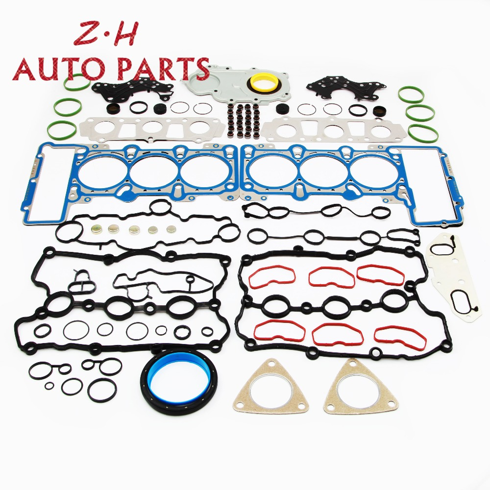 NEW MLS Engine Cylinder Head Valve Cover Gaskets Seals Kit 06E 103 149 AG For VW