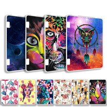 Painted Cover Case for Amazon Kindle Fire HD7 2014 Case Silicone Soft TPU Tablet Case For Amazon Kindle Fire HD 7 2014 7.0