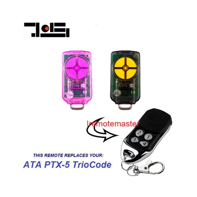 For ATA PTX-5V1 REMOTE TrioCode Compatible Remote Control PTX5 Garage Door Opener FREE SHIPPIING