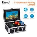 EYOYO 30 M buscador de peces subacuática cámara de pesca caja de Control de batería infrarrojo y blanco LED grabación de vídeo DVR 8 GB