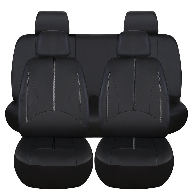 Housse de siège auto couvre accessoires pour Mitsubishi Evolution Galant Grandis L200 Lancer 10 9 Ix X Carisma de 2010 2009 2008 2007