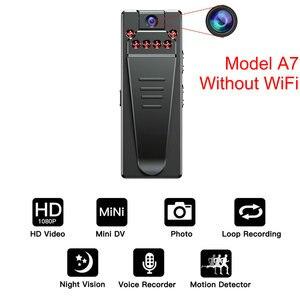 Image 4 - Mini kamera wi fi HD 1080P czujnik noktowizor kamera Motion DVR mikro kamera Sport DV wideo bezprzewodowy mały zacisk do kamery cam