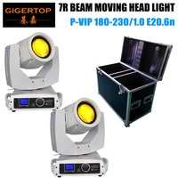 2in1 Stackable Road Case Pack American DJ Vizi Beam 5R Moving Head Light 7R Discharge Lamp Technology 8000K, 2,000 hr White Case