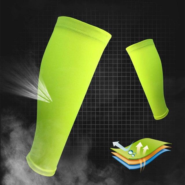 Albreda men & women camada base de compressão manga perna ciclismo aquecedores de perna correndo futebol basquete esportes bezerro apoio 7 cor 3